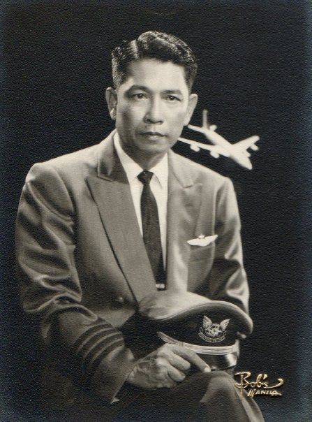 My lolo, Captain Generoso A. Lopez, who always reminded me of Captain von Trapp