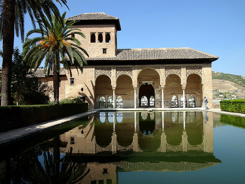 The Alhambra in Granada, Spain | Image by jamesdale10 (www.Flickr.com'HappyTellus.com), under the Creative Commons 2.0 License