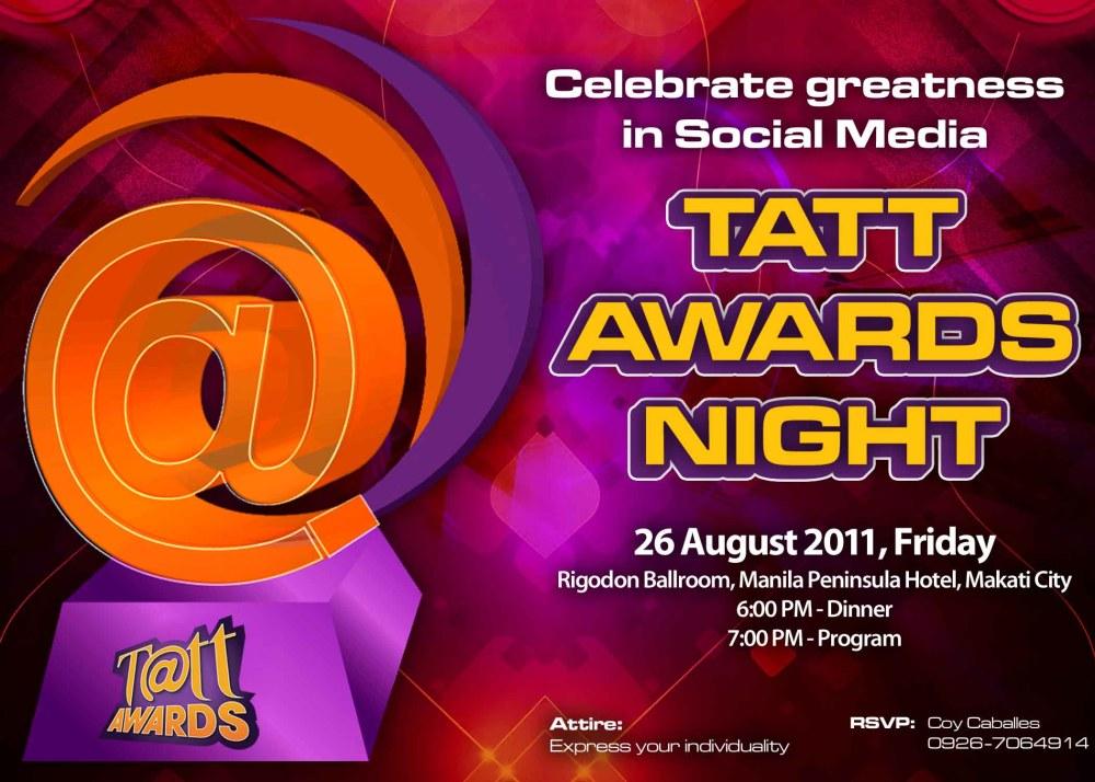 Globe Tatt Awards e-Invite_awards night