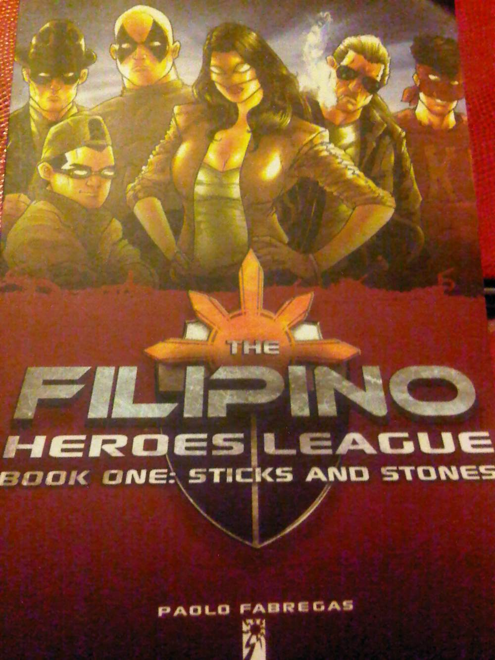 The Filipino Heroes League by Paolo Fabregas