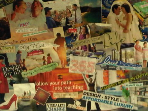 The dreamboard on my ceiling