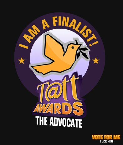 Tatt Awards finalist - The Advocate category